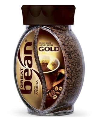 Great Bean Gold Кофе растворимый сублимированный 100 г