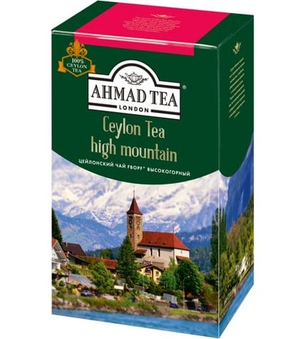 Чай черный Ahmad Tea Ceylon Tea F.B.O.P.F. high mountain листовой 200 г