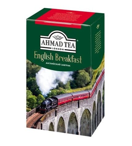 Чай черный Ahmad Tea English Breakfast листовой 200 г