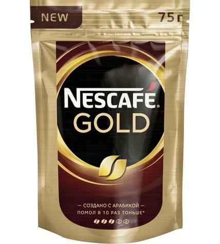 Кофе Nescafe Gold Crema растворимый 70 г
