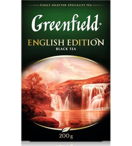 Чай черный Greenfield English Edition листовой 200 г