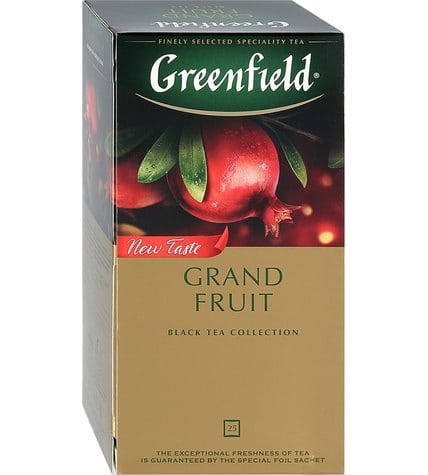 Чай черный Greenfield Grand Fruit в пакетиках 1,5 г 25 шт